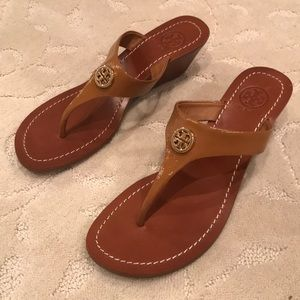 Brand New Tory Burch Wedge Sandals
